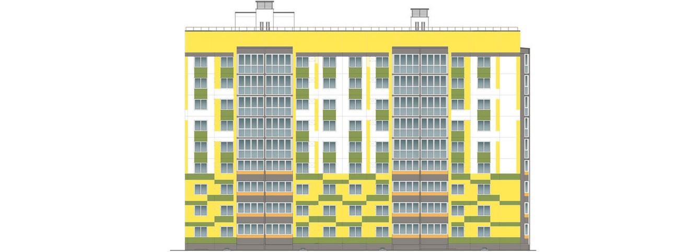 Многоквартирный жилой дом в Бресте, ул. Дубровская, 16